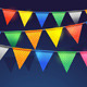 Festival Bunting Ribbons - GraphicRiver Item for Sale