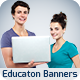 Education Banner Set Vol.1 - GraphicRiver Item for Sale