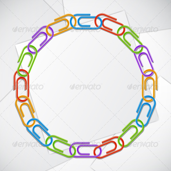 GraphicRiver Color Clips Frame 8510469
