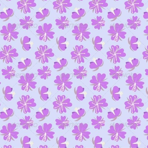 GraphicRiver Lilac Flowers 8510687