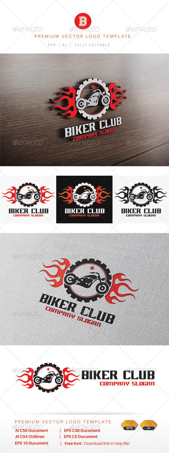 GraphicRiver Biker Club 8510880