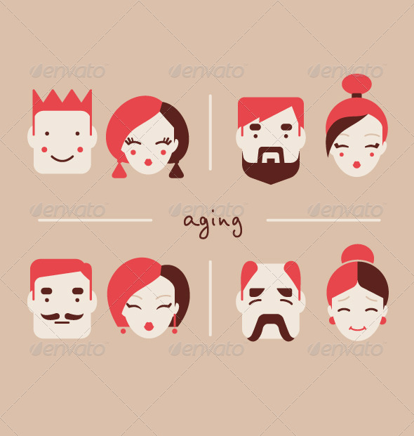 GraphicRiver People of Different Ages 8511111