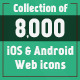 8,000+ Web Icons with 108 Unique Vector Icons - GraphicRiver Item for Sale