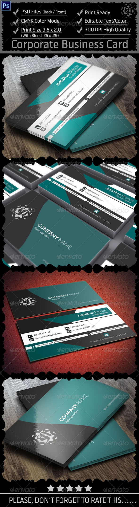 GraphicRiver Corporate Business Card Vol 8 8511386