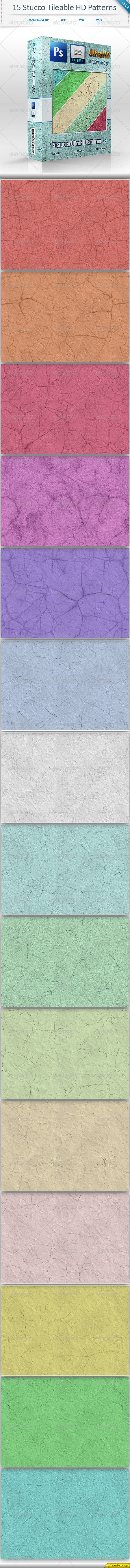 GraphicRiver Stucco Tileable Patterns vol 2 8511521