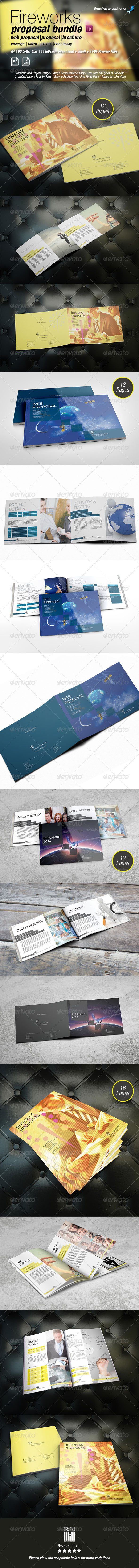 GraphicRiver Fireworks Proposal Pack 8511541