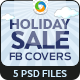 Holiday Sale Facebook Cover - GraphicRiver Item for Sale