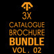 Catalogue / Brochure Bundle Vol. 02 - GraphicRiver Item for Sale