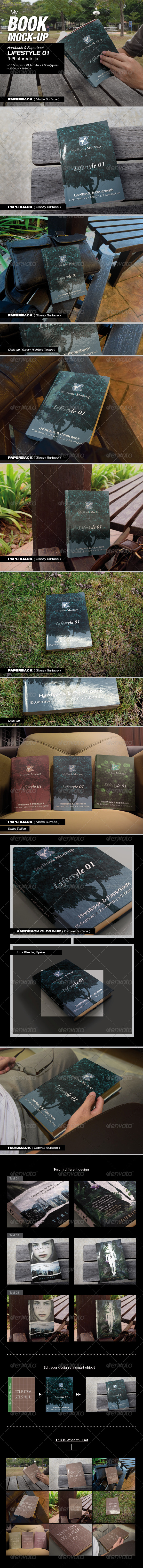 GraphicRiver MyBook Mock-up Lifestyle 01 8511725