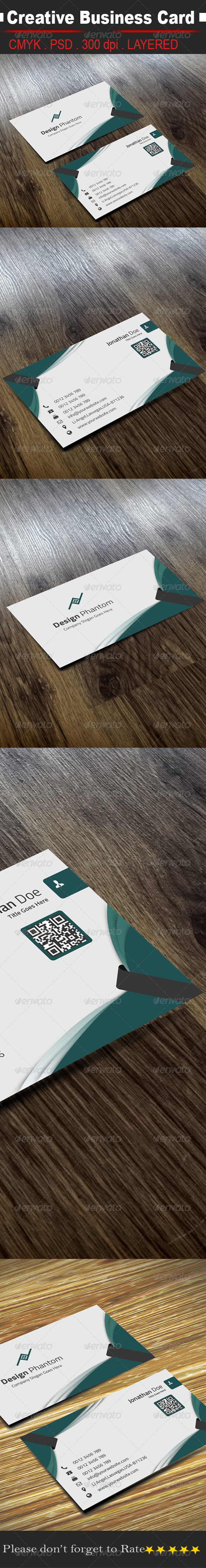 GraphicRiver Creative Business Card 8511739
