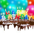 lighted candles on his birthday on a birthday cake - PhotoDune Item for Sale
