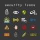Security Icons - GraphicRiver Item for Sale