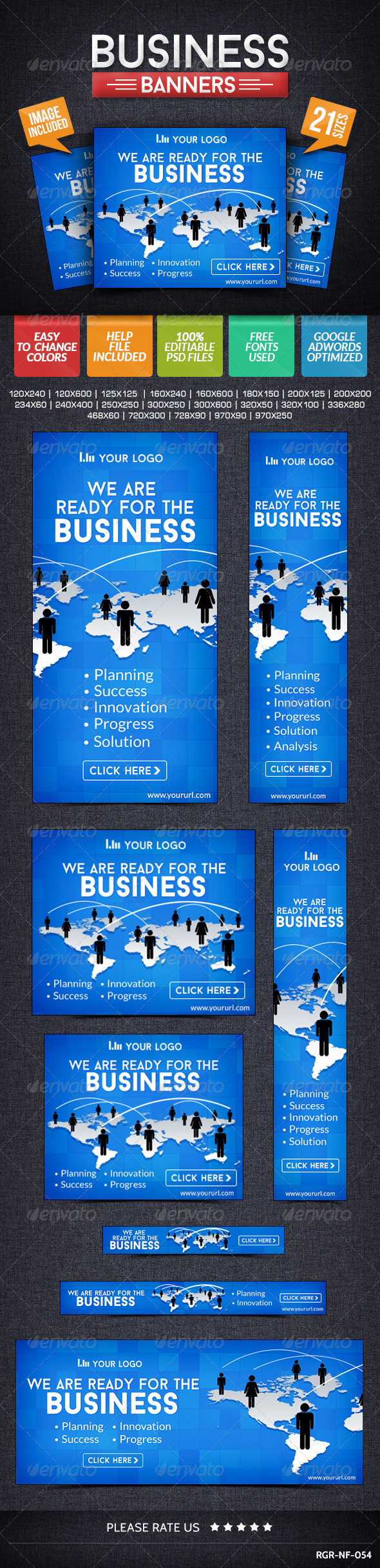 GraphicRiver Business & Marketing Banners 8512122
