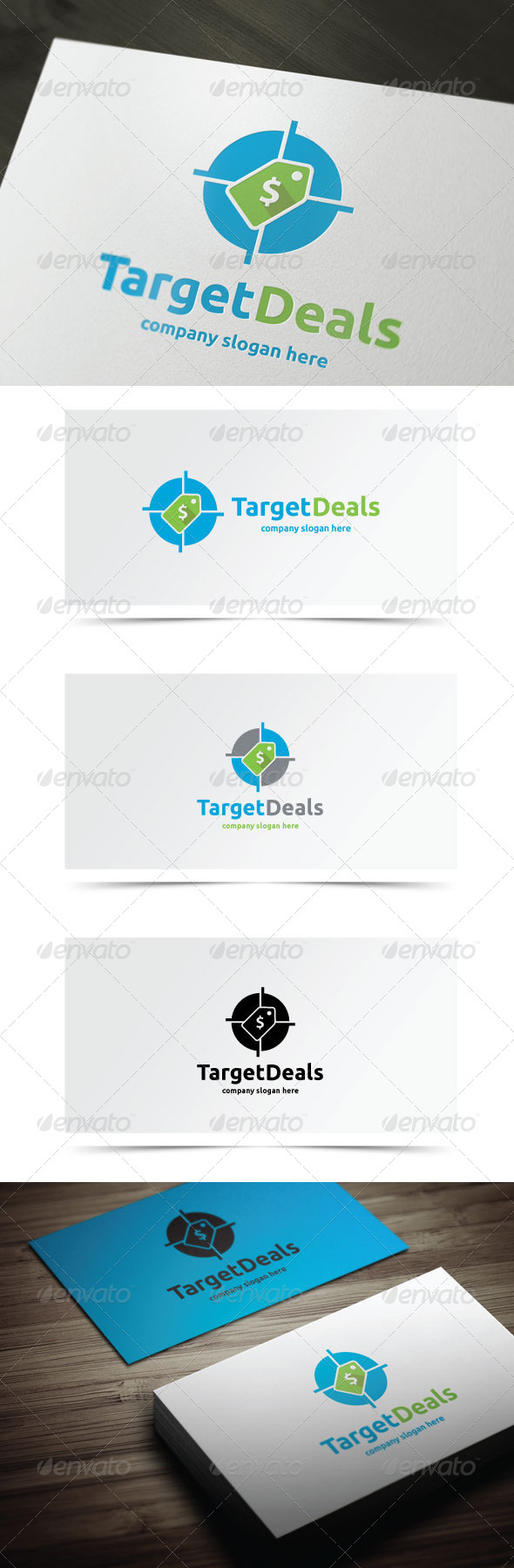 GraphicRiver Target Deals 8512203