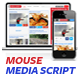 Mouse Media Script - CodeCanyon Item for Sale