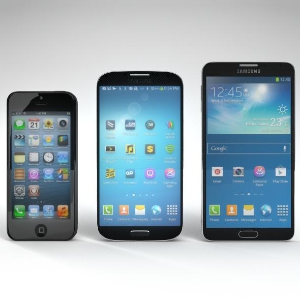3DOcean Mobile Pack 8512300