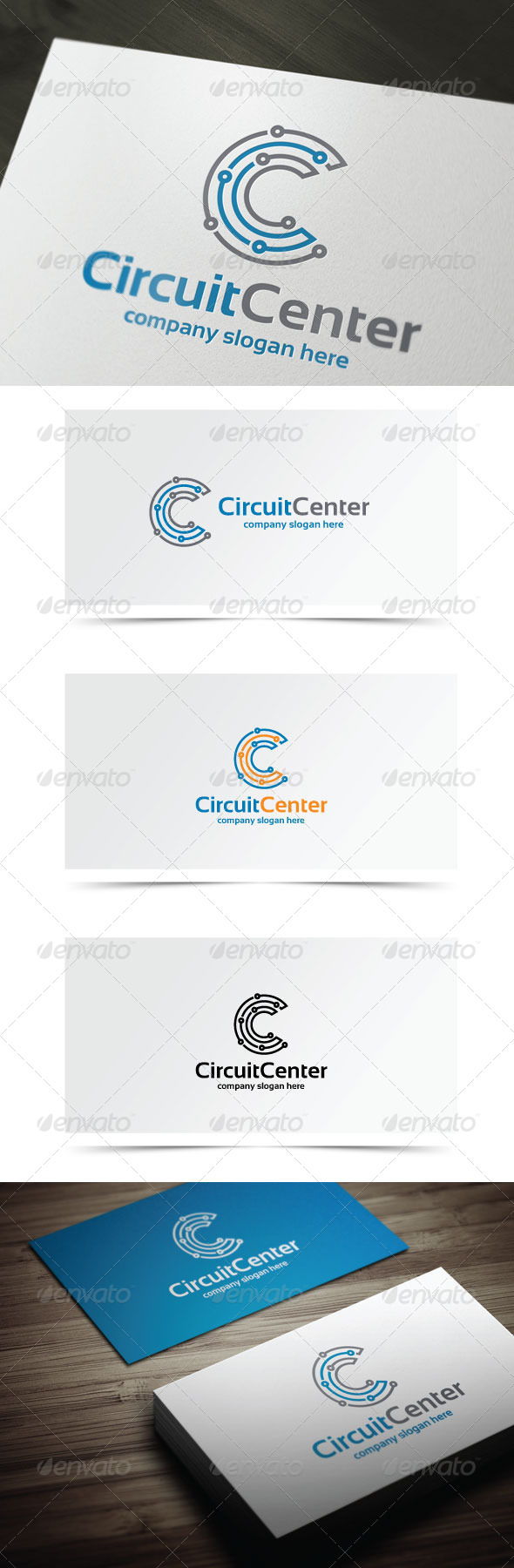 GraphicRiver Circuit Center 8512345
