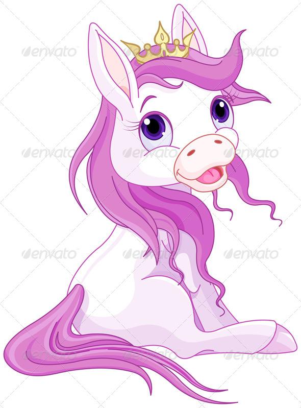 GraphicRiver Princess Horses 8512871