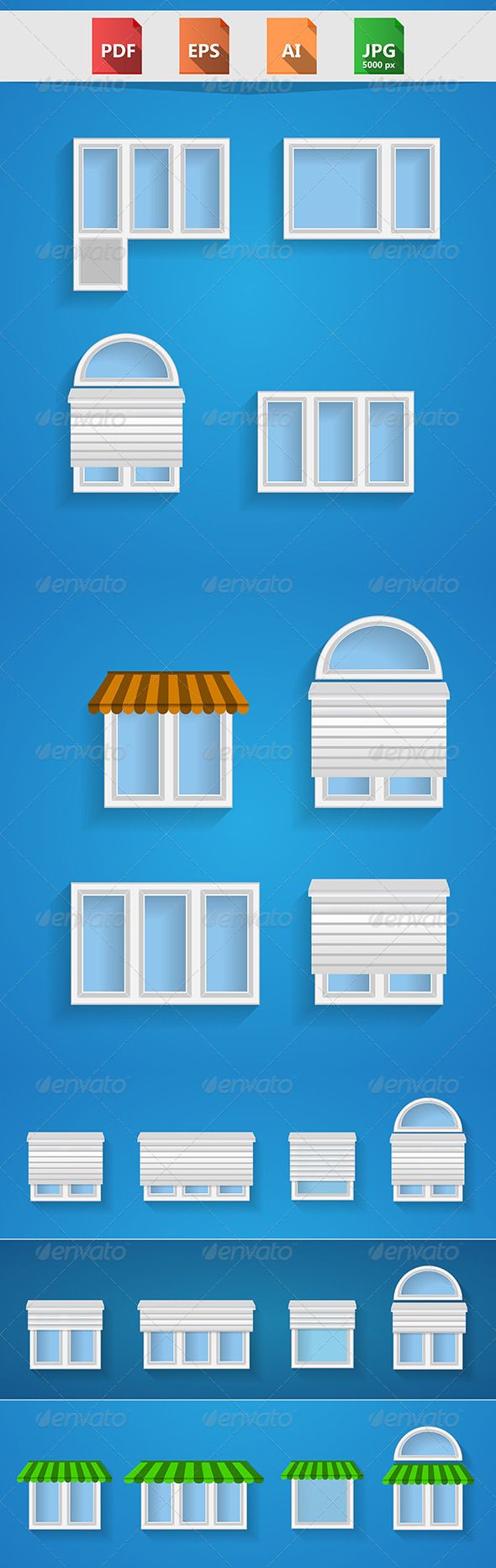 GraphicRiver Icons For Windows 8512913