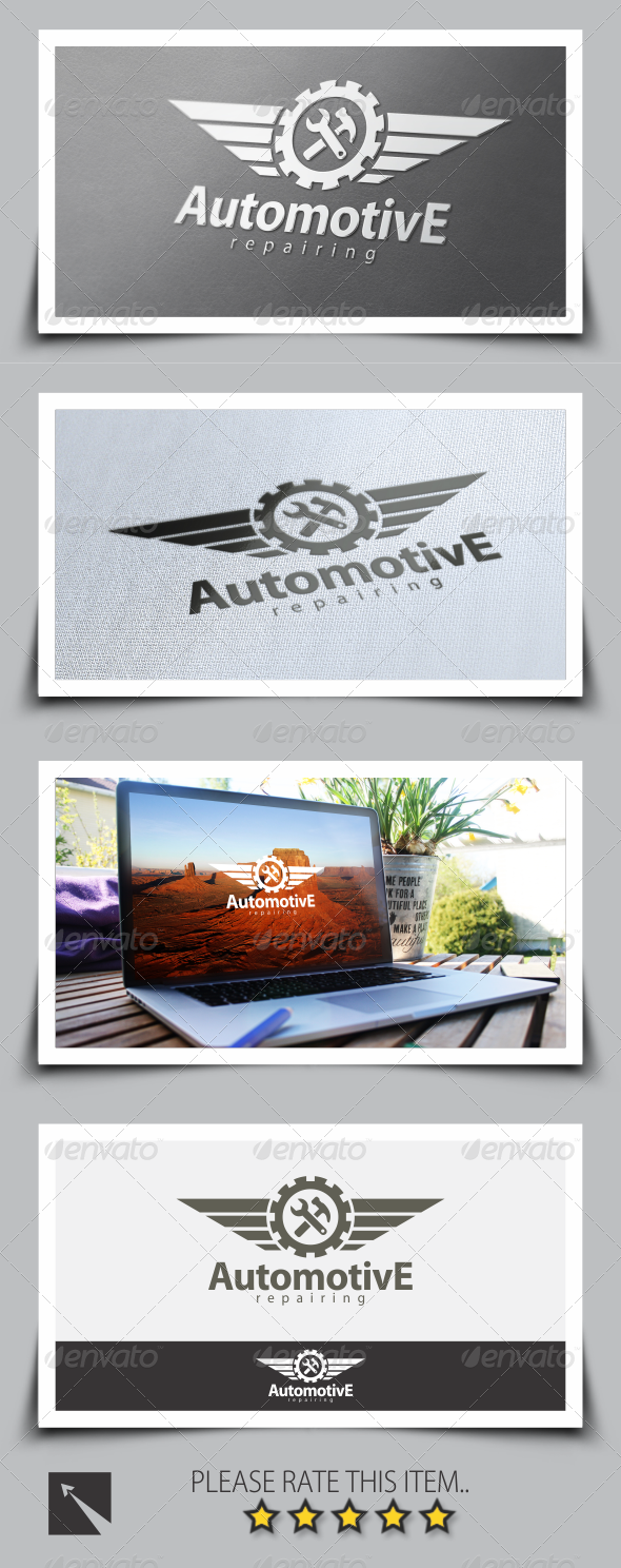 GraphicRiver Automotive Repair Logo Template 8510358