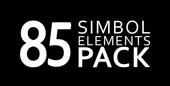 VideoHive 85 Elements Pack 8513110