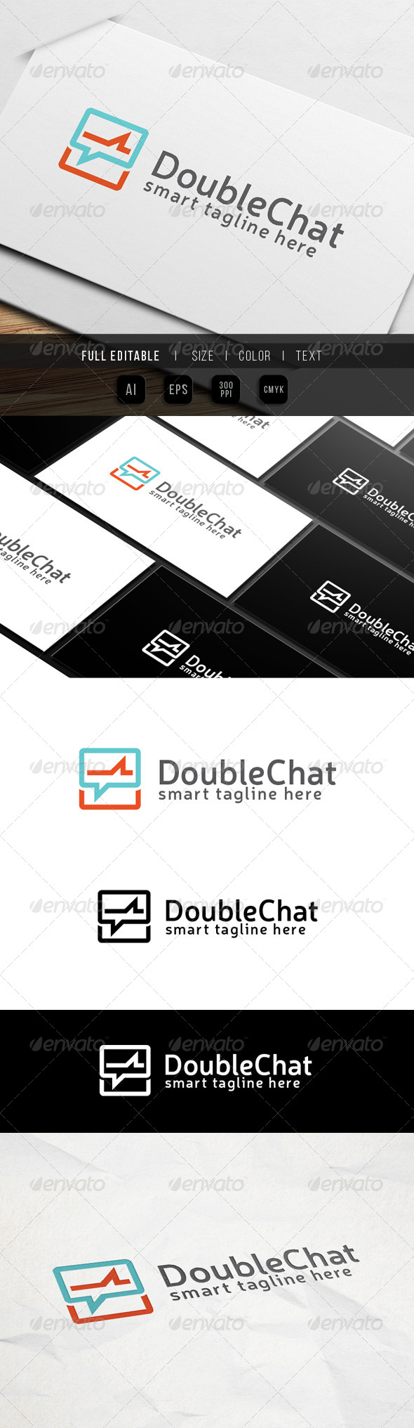GraphicRiver Double Chat 8509771