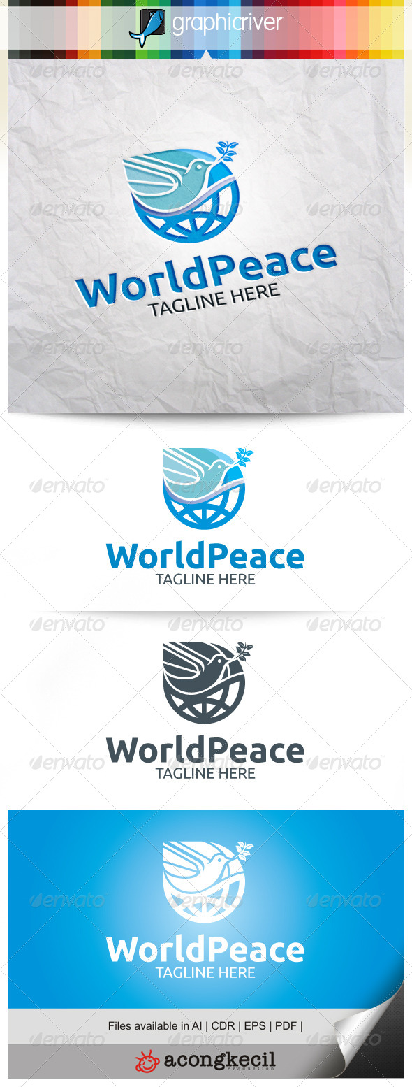 GraphicRiver World Peace V.4 8513576