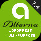 Alterna 7 - Ultra Multi-Purpose WordPress Theme - ThemeForest Item for Sale
