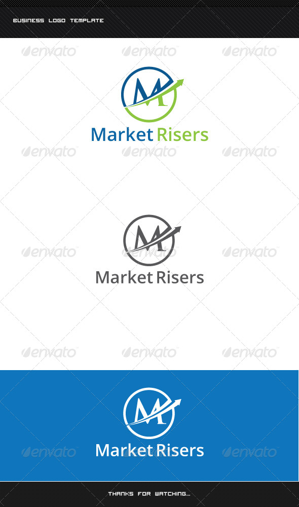 GraphicRiver M Letter Logo Template 8513831