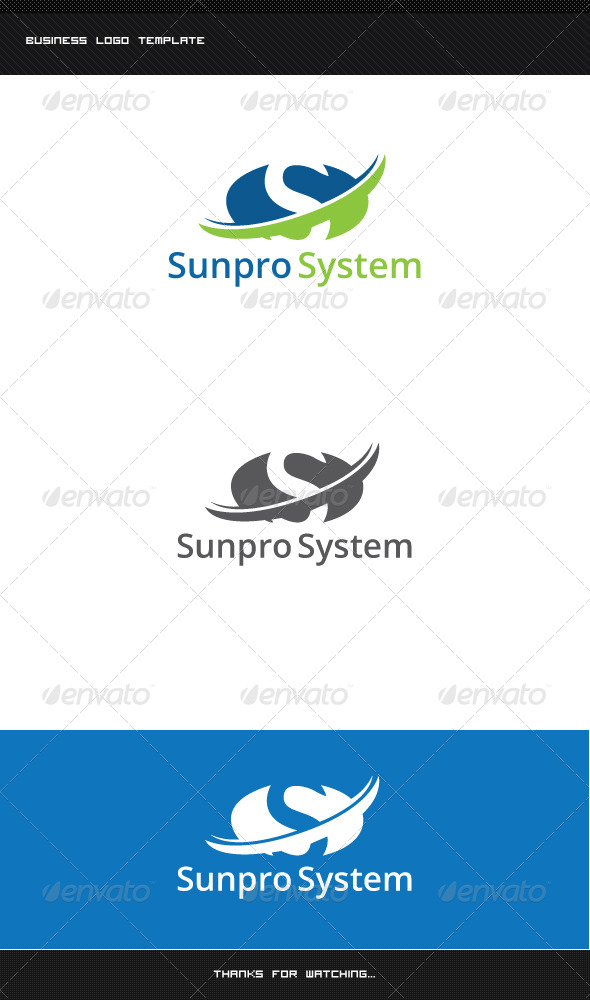 GraphicRiver S Letter Logo Template 8513835