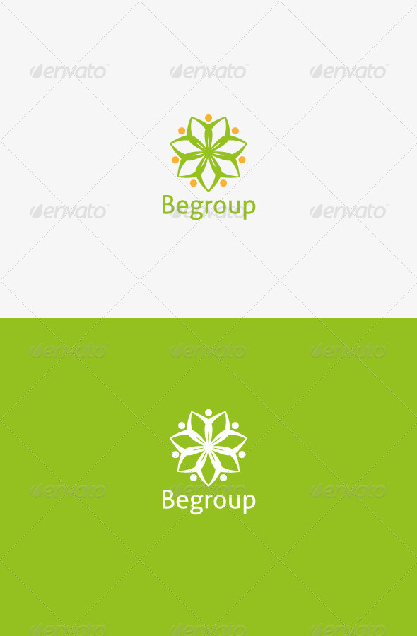 GraphicRiver Begroup Logo 8513856