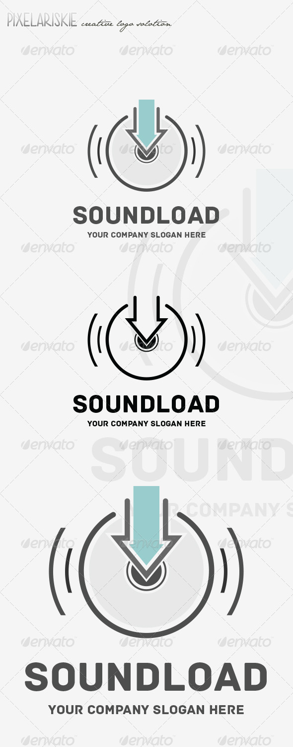 GraphicRiver Sound Load Music Logo 8466714
