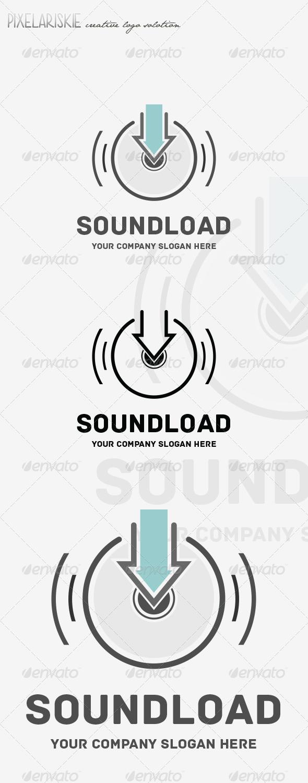 GraphicRiver Sound Load Music Logo 8466714