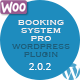 Booking System PRO (WordPress Plugin) ($44.00 - 4)