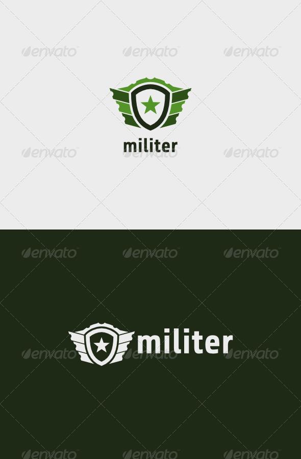 GraphicRiver Militer Logo 8514146