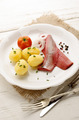 pink herring with potato and onion - PhotoDune Item for Sale