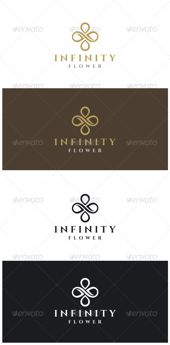 GraphicRiver Infinity Flower Logo 8514414