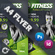 Fitness Salon Flyer Templates - GraphicRiver Item for Sale