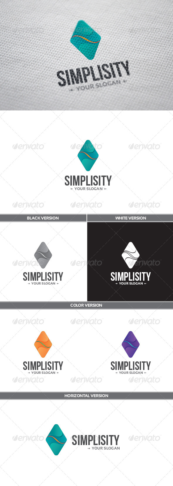 GraphicRiver Simplisity Logo 8514590