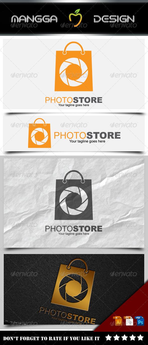 GraphicRiver Photo Store Logo 8514742