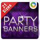 Party & Event Banners - GraphicRiver Item for Sale