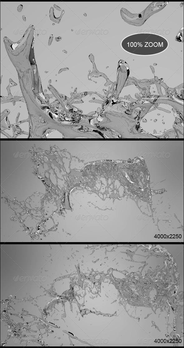GraphicRiver Water Splash Vol 6 8514813