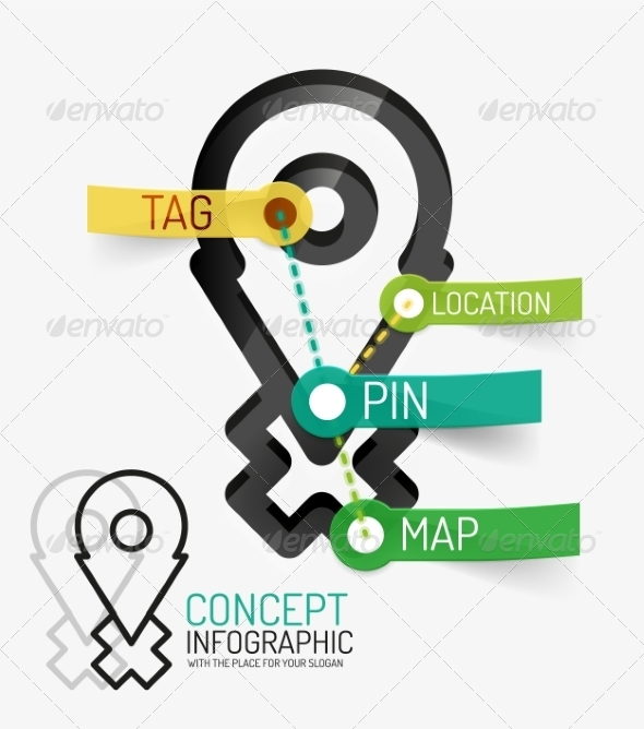 GraphicRiver Navigation Infographic Keywords 8514817