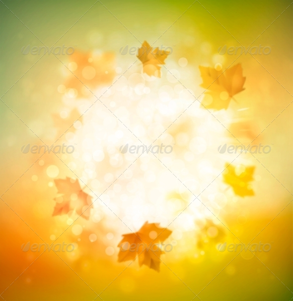 GraphicRiver Autumn Background 8514872