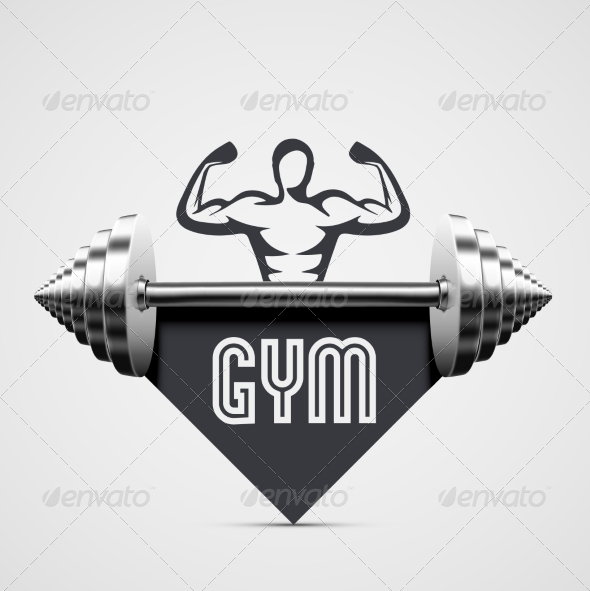 GraphicRiver Gym Icon 8514881
