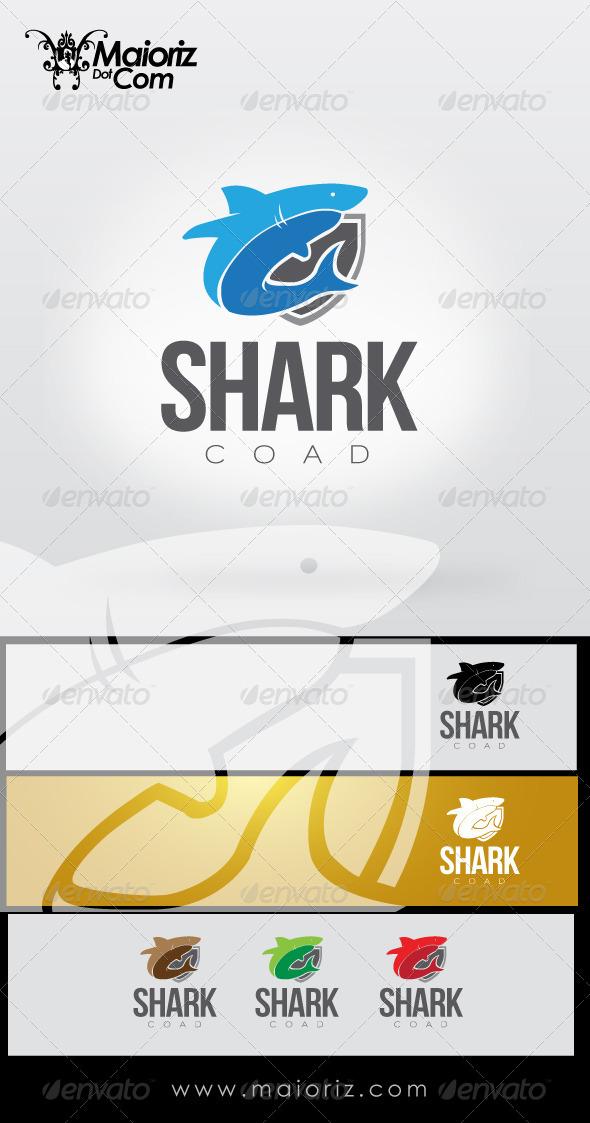GraphicRiver Shark Coat Logo 8514913