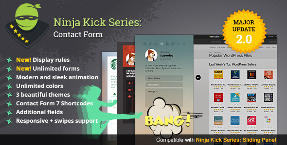 Ninja Kick WordPress Contact Form