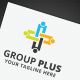 Group Plus Logo - GraphicRiver Item for Sale