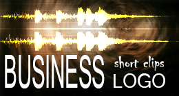 Business logo and other short clips