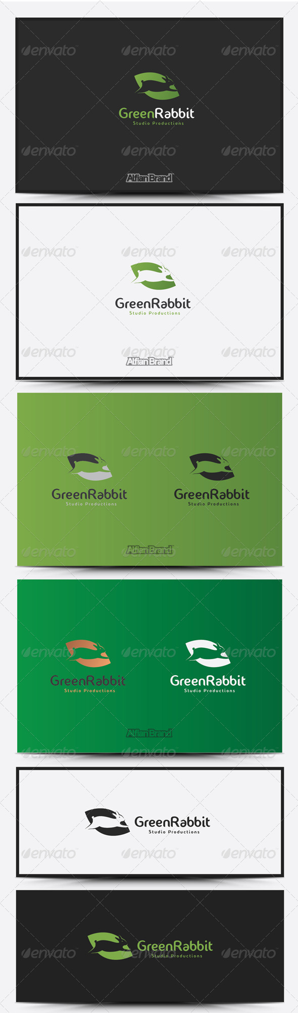 GraphicRiver Rabbit Logo 8515301